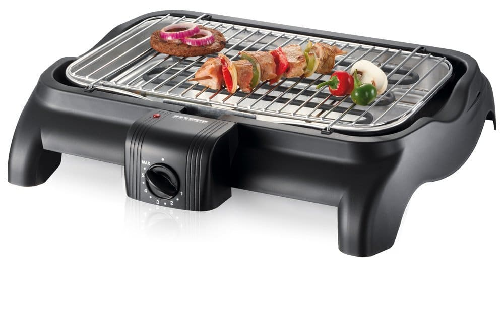 severin pg 1511 barbecue-elektrogrill